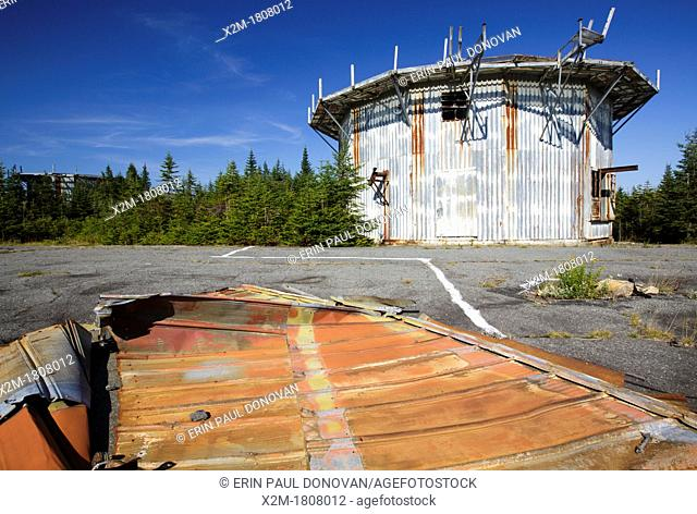 Lyndonville Air Force Station on East Mountain in East Haven, Vermont  The US Air Force built the North Concord Radar Station on top of East Mountain in 1955...