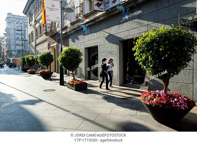 Camoens street  Ceuta  Spain