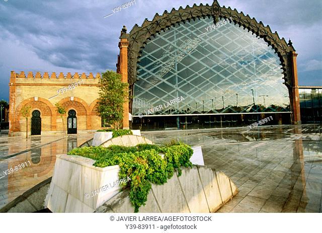 New bus station, Plaza de Armas, Sevilla. Andalusia, Spain