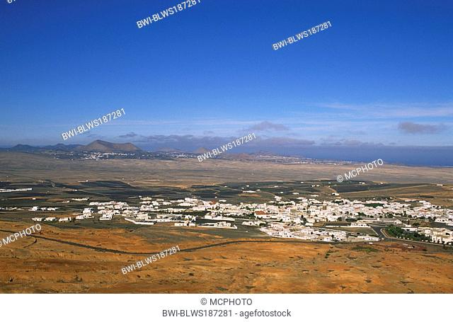 View at Teguise, Canary Islands, Lanzarote