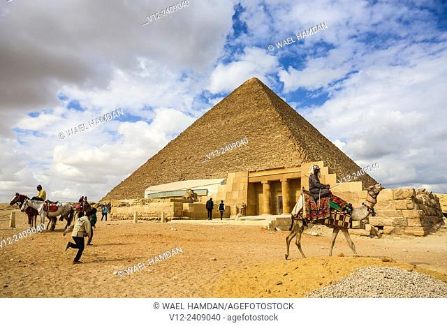 pyramids of Giza, Cairo, Egypt