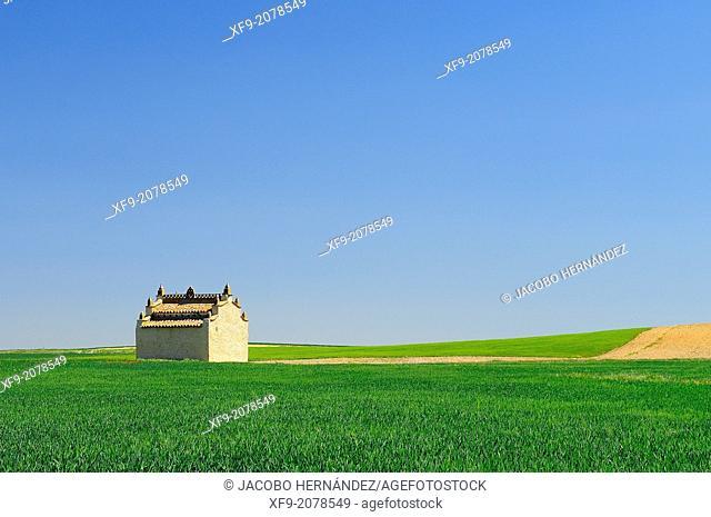 Dovecote.Otero de Sariegos.Tierra de Campos.Zamora province.Castilla y León.Spain