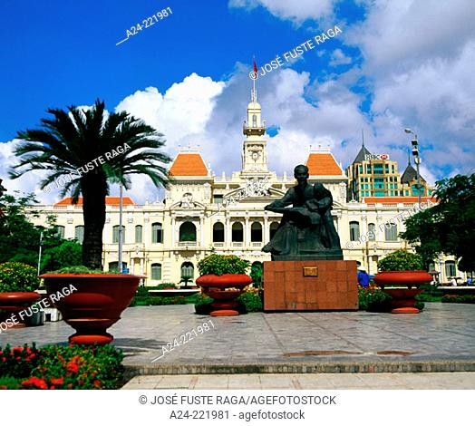 Ho Chi Minh City Hall building. Vietnam