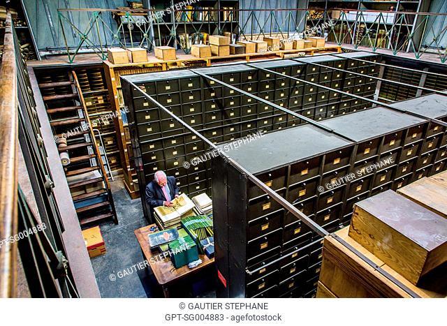JACQUES NOISETTE, DEPARTMENT OF HISTORICAL ARCHIVES OF THE CANAL DU MIDI, TOULOUSE, (31) HAUTE-GARONNE, FRANCE