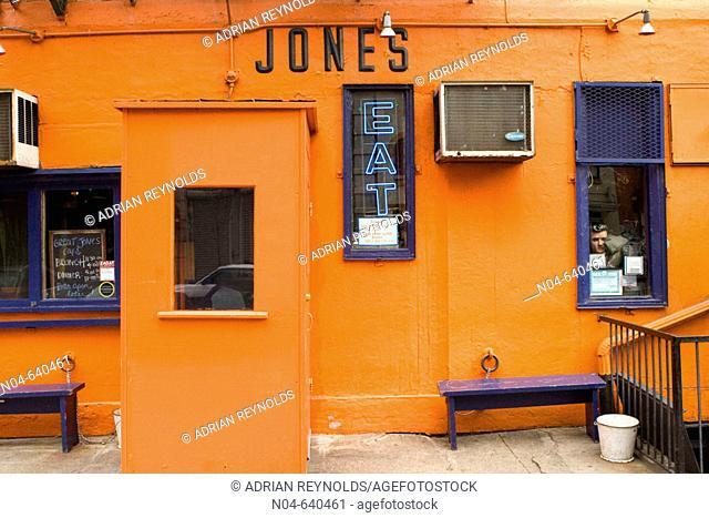 Great Jones Café. New York city. USA