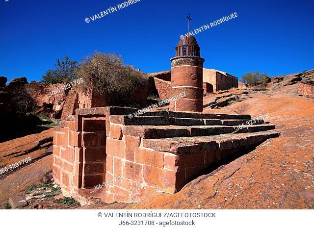 Cistern of Musulmin origin in Ródenas. Sierra de Albarracín. Teruel