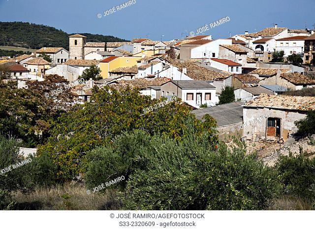Corcoles. Guadalajara. Castilla la Mancha. Spain. Europe