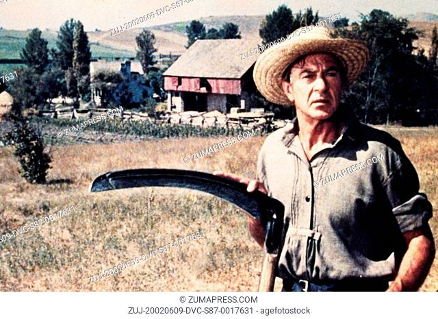 1956, Film Title: FRIENDLY PERSUASION, Director: WILLIAM WYLER, Studio: ALLIED ARTISTS, Pictured: GARY COOPER. (Credit Image: SNAP/ZUMAPRESS.com)