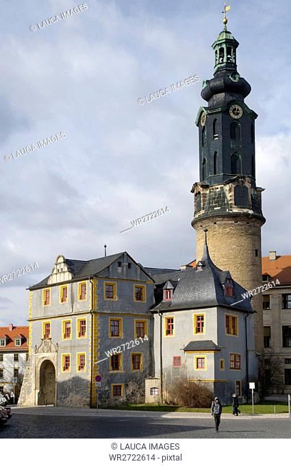 Architecture, destination, field recording, FRG, building, federal republic, Germany, Europe, building, construction, castle, place of interest, town castle