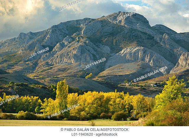 Fuentes Carrionas Reserve in Cordillera Cantábrica, Palencia. The village is Santibañez de Resoba