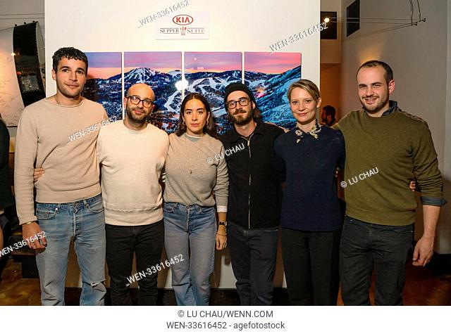 Sundance Film Festival 2018 - 'Piercing' - Premiere Party Featuring: Christopher Abbott, Anthony Campos, Sofia Subercaseaux, Nicolas Pesce, Mia Wasikowska