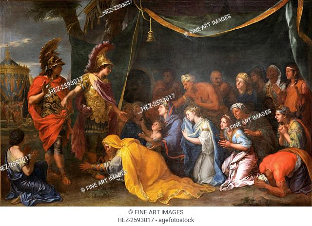 The Queens of Persia at the feet of Alexander (The Tent of Darius), 1661. Found in the collection of the Musée de l'Histoire de France