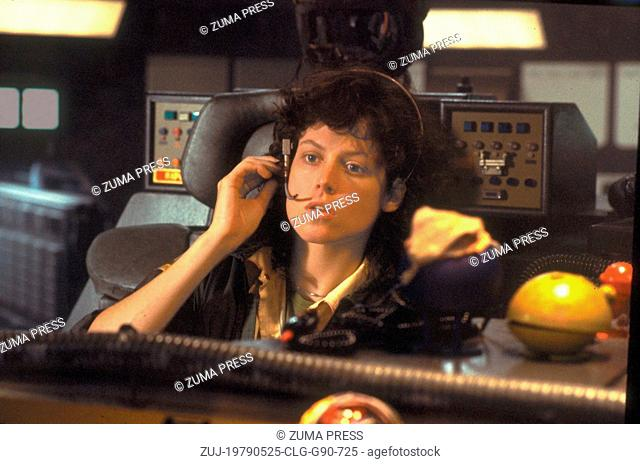 May 25, 1979; New York, NY, USA; Actress SIGOURNEY WEAVER stars as Ripley in the 20th Century Fox sci-fi thriller, 'Alien.' Directed by Ridley Scott