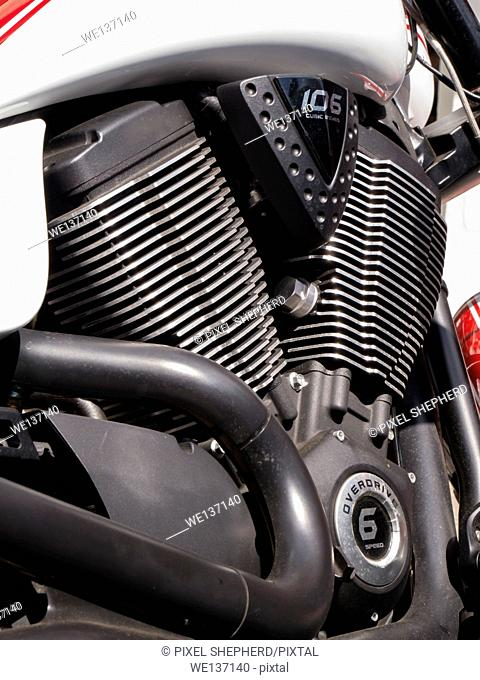Victory motorcycle detail