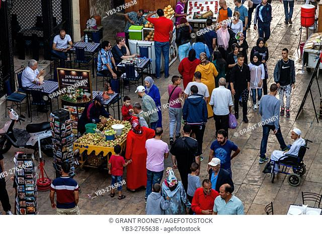 Local People In The Medina, Fez el Bali, Fez, Morocco