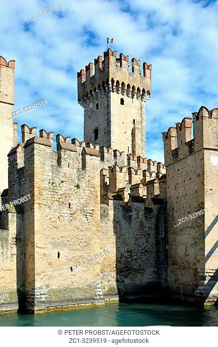 Scaligero castle of Sirmione - Italy