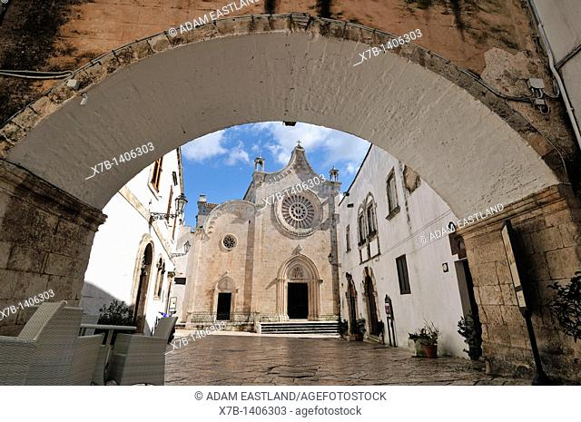 Ostuni  Puglia  Italy  Late 15th C Duomo / Cathedral
