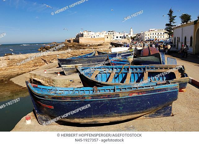 Essaouira; Harbour; Morocco