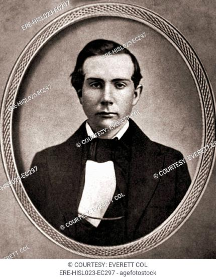 John D. Rockefeller 1939-1937 in his early 20s. BSLOC-2010-18-12