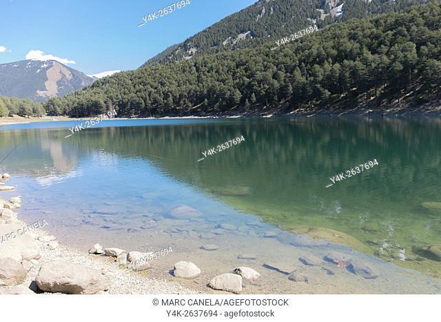 Engolasters lake, Andorra