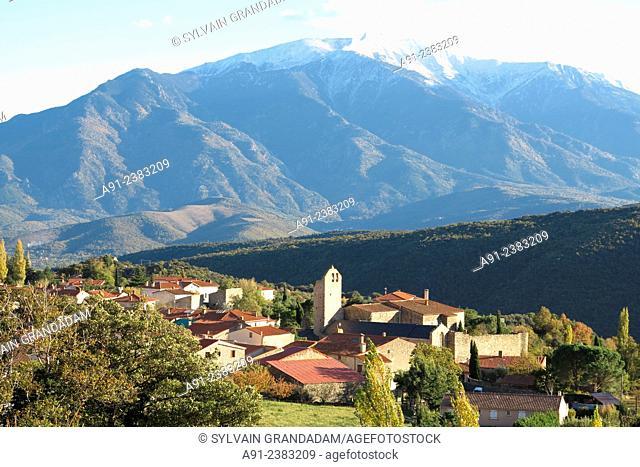 France,Roussillon,Pyrenees-Orientales, Molitg-les-Bains