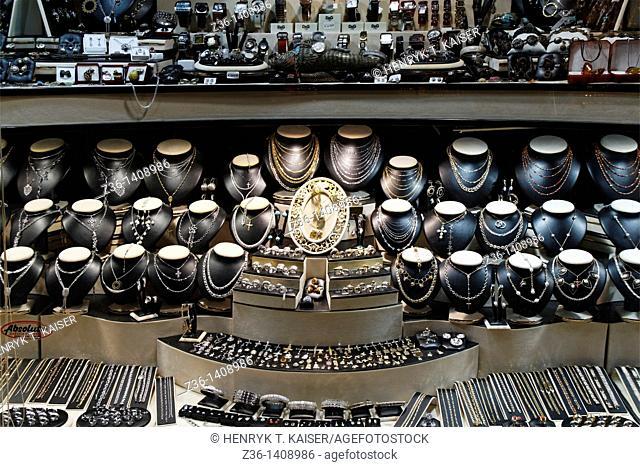 Jewelry shop, Rab Town on Rab Island, Croatia