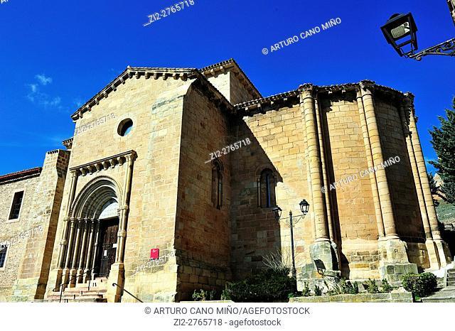 The Romanesque church of Santa Clara, XIIIth century. Molina de Aragón, Guadalajara, Spain