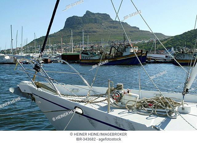 Fishing port, Hout Bay, Cape Town, West Cape, South Africa