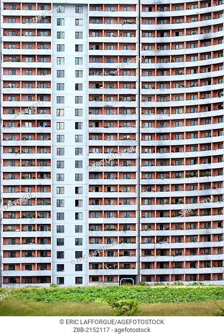 Old Paratements, Pyongyang, North Korea