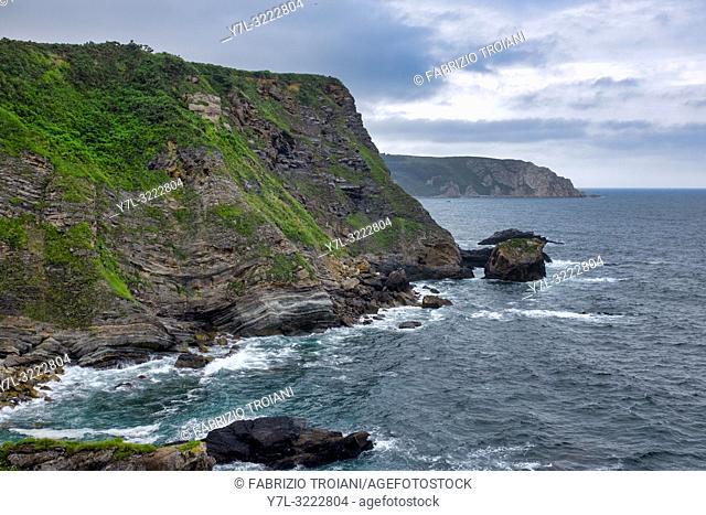 Cabo Vidrias, Asturias, Spain