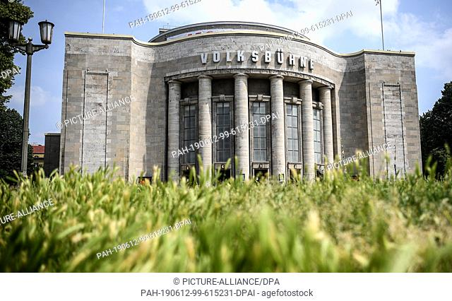 12 June 2019, Berlin: The Volksbühne. Rene Pollesch, theatre director and author, will take over as artistic director for the 2021/22 season