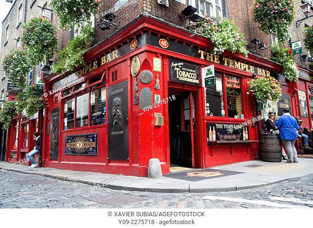 The Temple Bar, Temple Bar, Dublin, Leinster, Ireland
