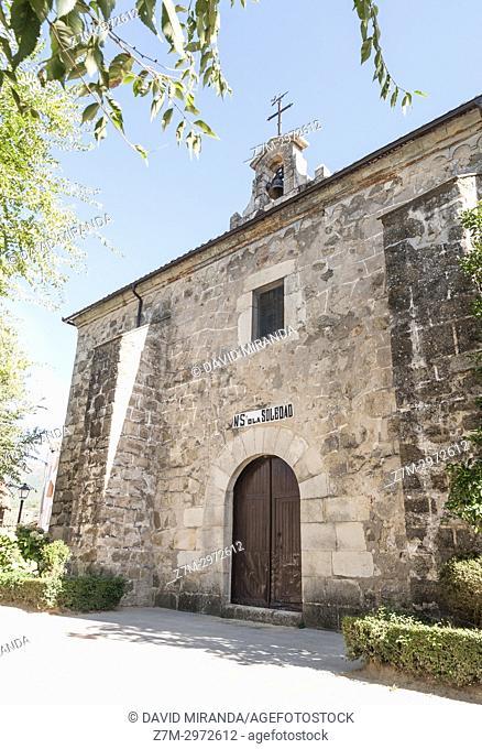 Ermita de la Soledad. Mombeltrán. Barranco de las cinco villas. Valle del Tiétar. Provincia de Ávila, Castile-Leon, Spain