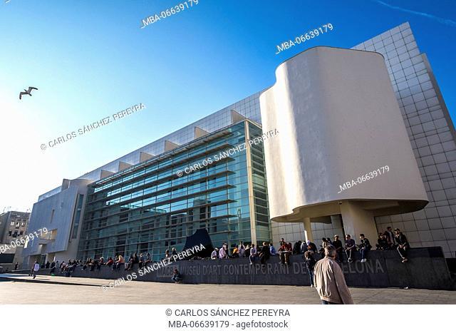 MACBA, Museum of Contemporary Art of Barcelona, Catalonia Spain