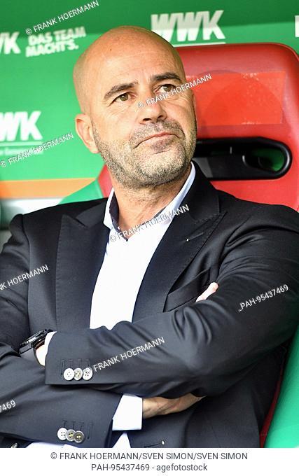 Peter BOSZ (Trainer Borussia Dortmund), Einzelbild,angeschnittenes Einzelmotiv,Halbfigur,halbe Figur Fussball 1. Bundesliga, 7