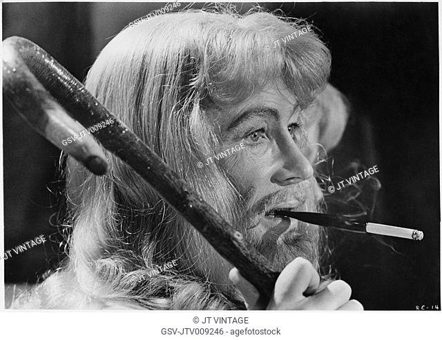 Peter O'Toole, on-set of the Film, The Ruling Class, 1972
