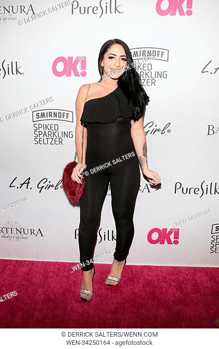 OK! Magazine Summer Kickoff Party at Magic Hour at Moxy Times Square in New York City Featuring: Angelica Pivarnick Where: New York, New York