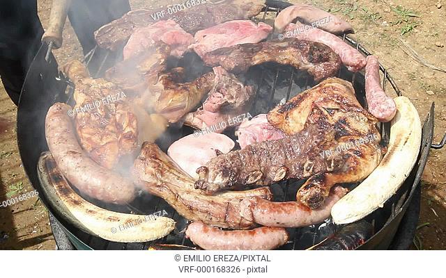 Home barbecue