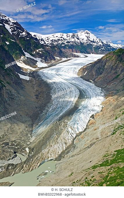 Salmon Glacier, Canada, British Columbia, Tongass National Forest, Misty Fjords National Monument