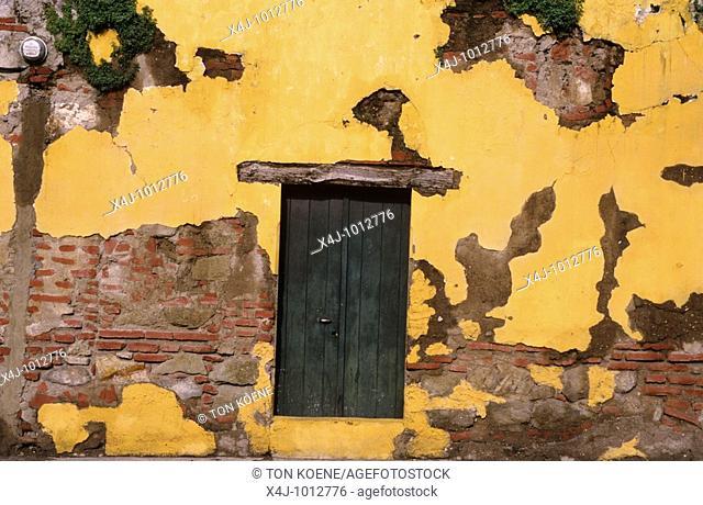 door in quatamalan house