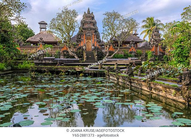 Taman Saraswati Temple, Ubud, Bali, Indonesia, Asia