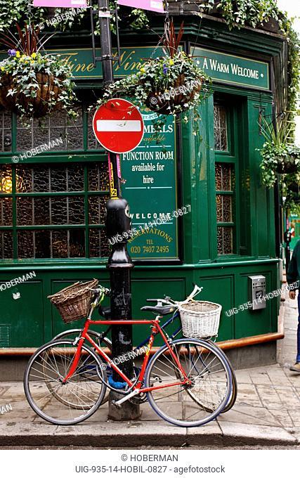 Bicycles, Burough Market, London