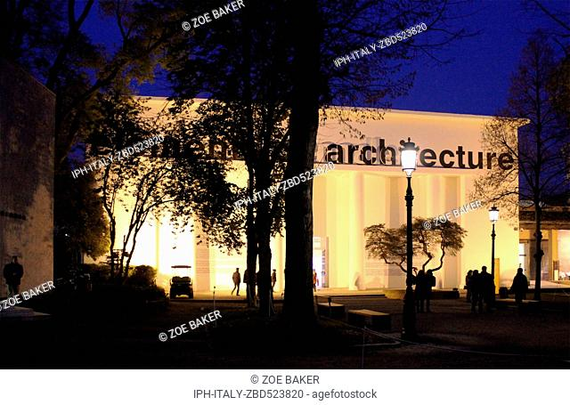 Italy Venito Venice Biennale Exhibition