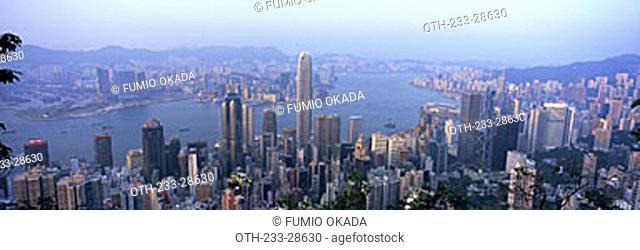 Hong Kong cityscape from the Peak, Hong Kong