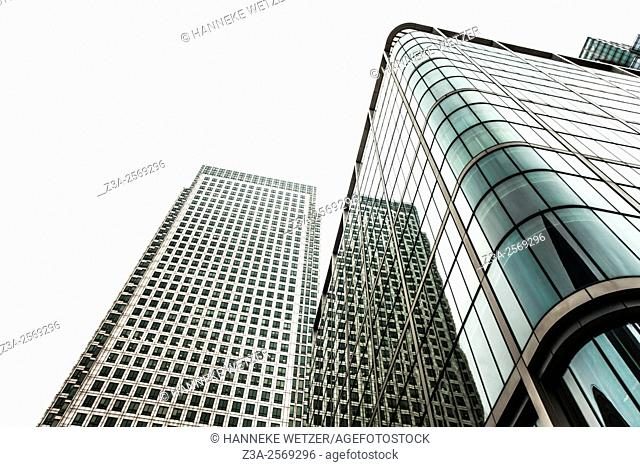Canary Wharf is a major business district located in Tower Hamlets, east London, England. It is one of the United Kingdom's two main financial centres â