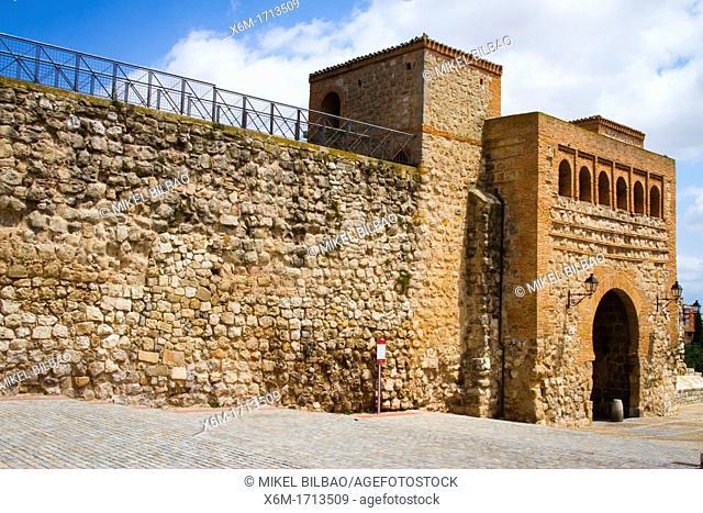 Jewish quarter door in the city wall  Burgos city  Castile and Leon, Spain