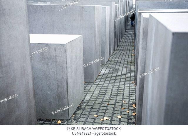 HOLOCAUST MEMORIAL. BERLIN. GERMANY