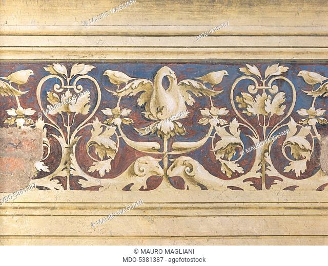 Funeral Monument to Agostino Onigo, 1490, 15th Century, sculpture and fresco