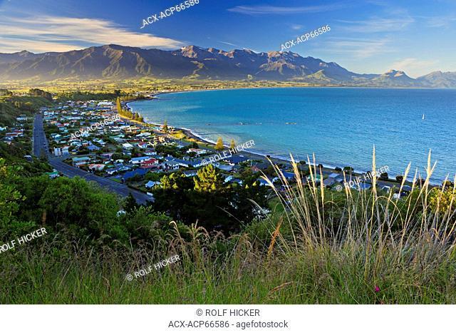 Kaikoura townsite, East Coast, South Island, New Zealand