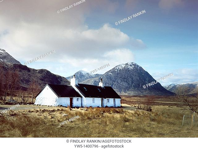 Black Rock Cottage, Glen Coe, Rannoch Moor, Lochaber, Scotland